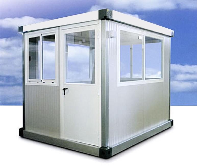 Cabina de control para plantas de hormigón