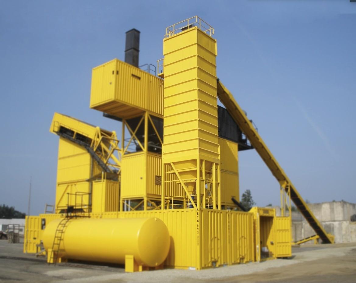 Sistema de silos de relleno externos