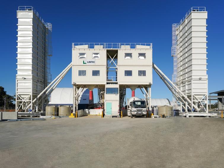 CC Containerized Concrete Batching Plants