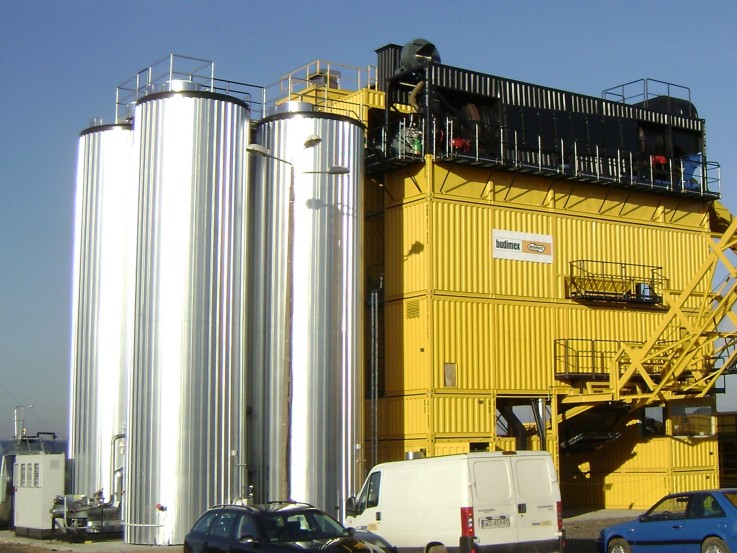 Bitumen Storage System