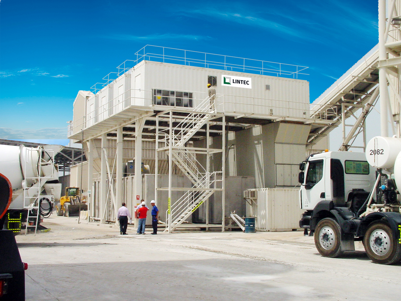 LEA Containerised Ice and Chilled Water Plant