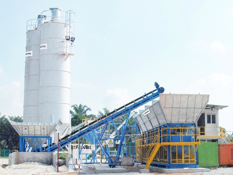 ECODRY Concrete Batching Plant