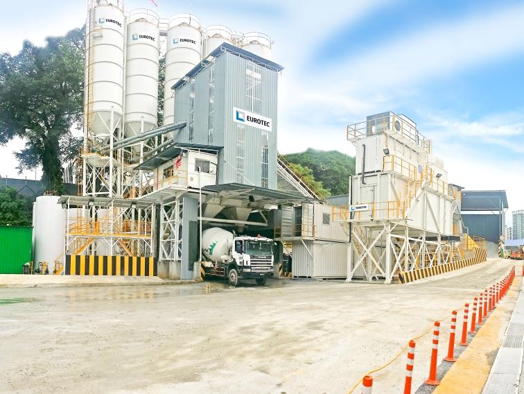 MZ Stationary Concrete Batching Plant