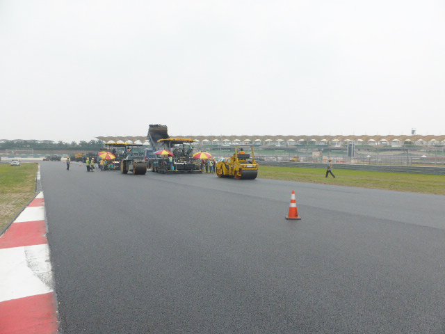 Sepang International Circuit Track Resurfacing