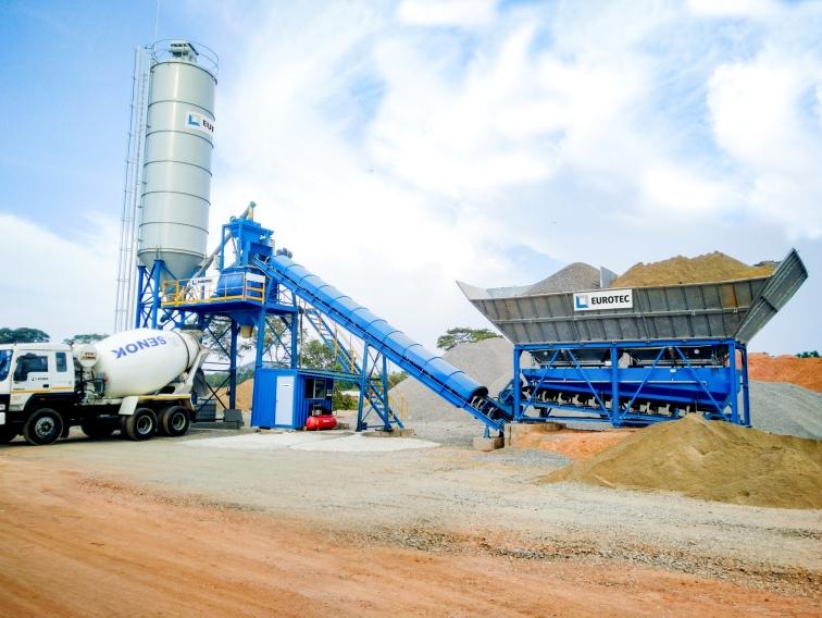 ECOTEC Concrete Batching Plant