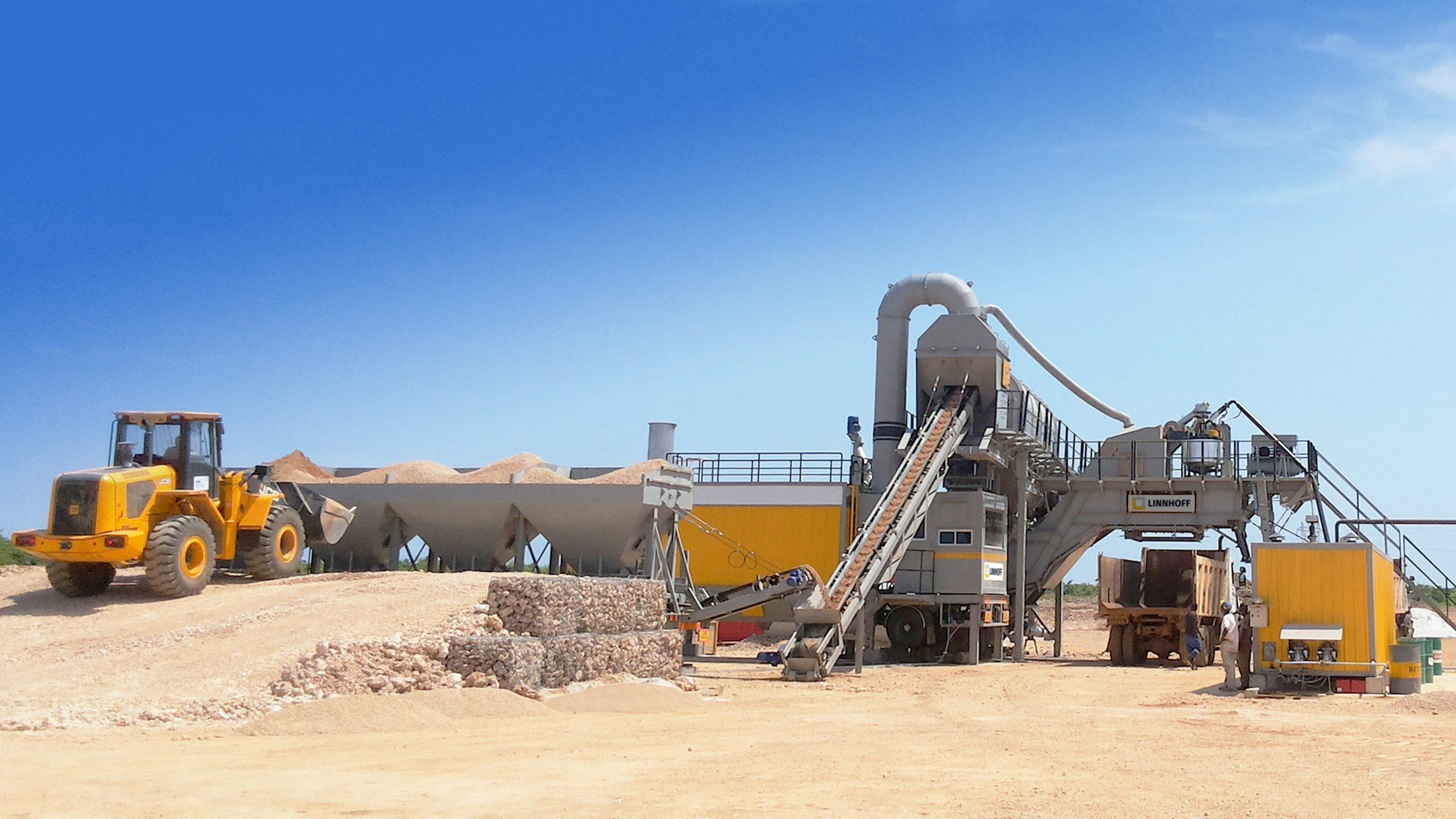 TSD MobileMix Asphalt Plant