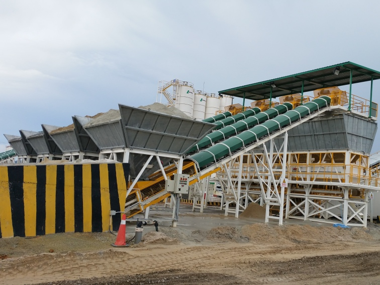 Aggregates Ground Feeding System