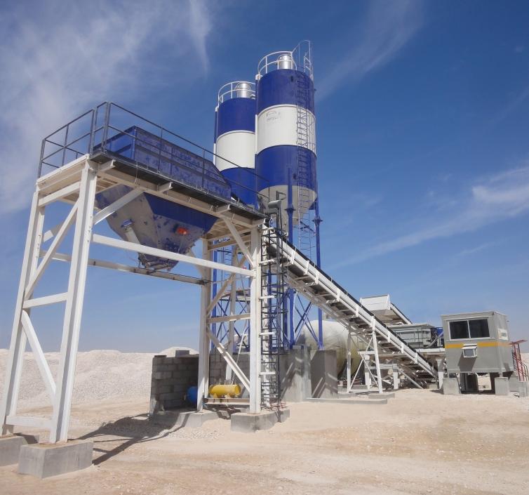 Base Stabilisation Plant