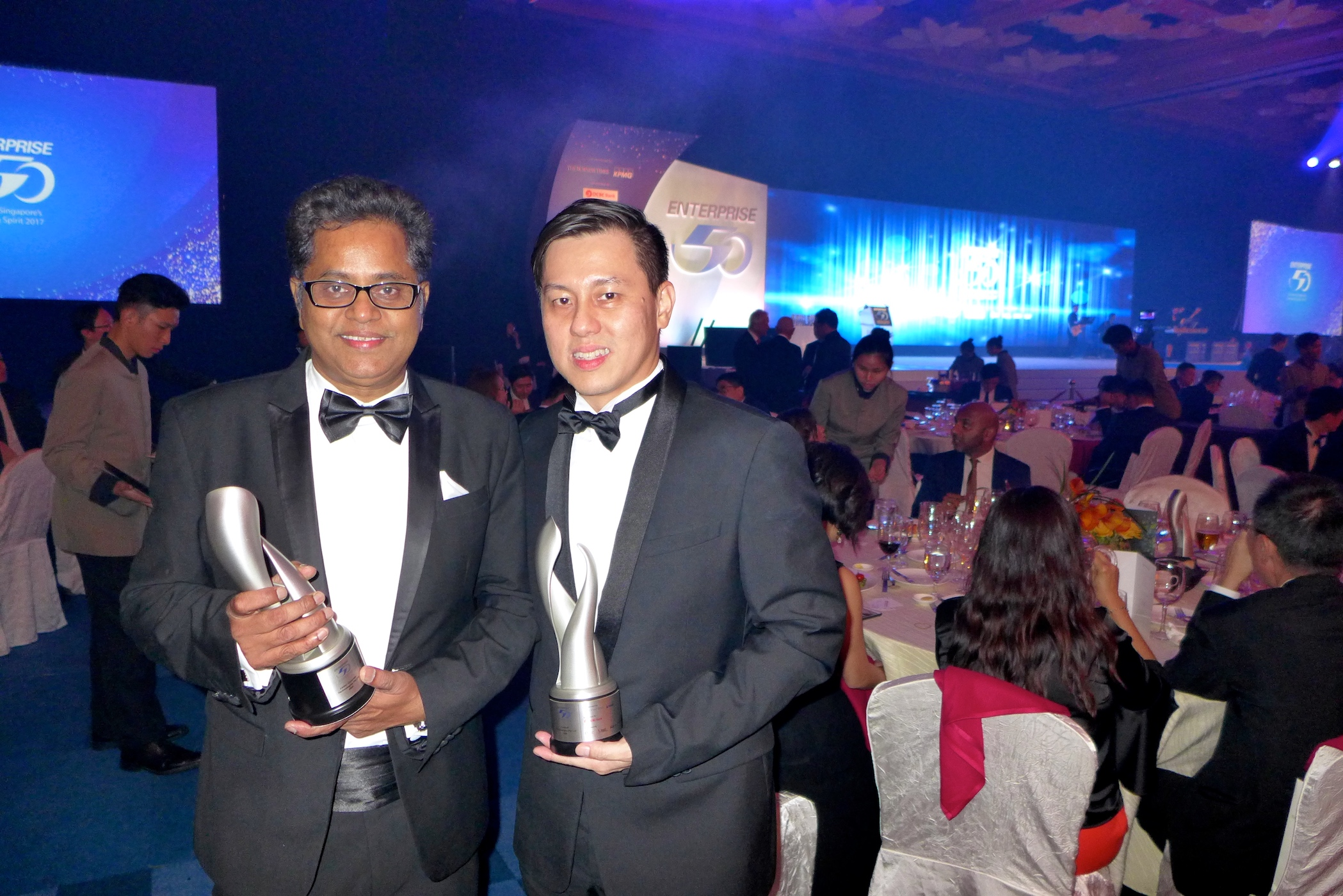 Lintec & Linnhoff Clinches Two Enterprise 50 Awards