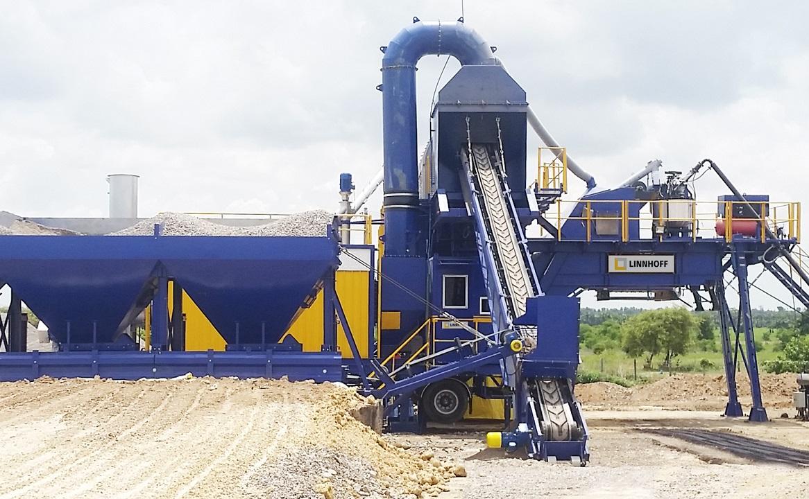 reliable German asphalt mixing technology