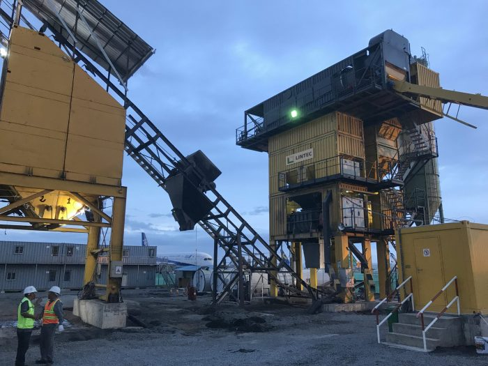 Lintec asphalt plant paves the way for better runways at Cambodia airports