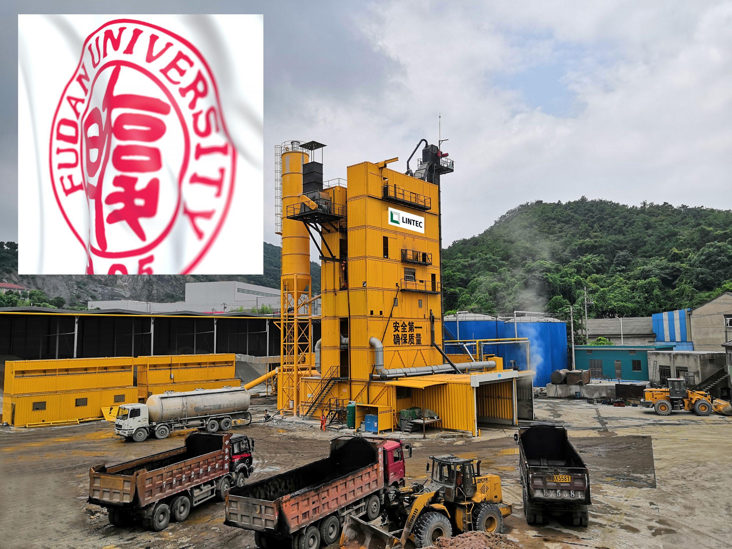 Lintec partners with Fudan University to make its asphalt plants more environment-friendly
