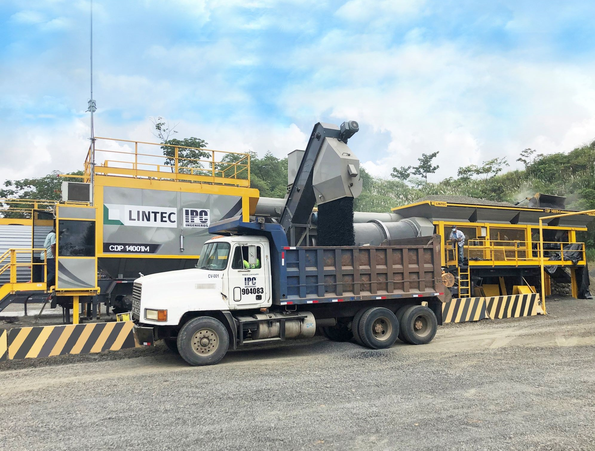 Lintec Asphalt Plant Installation By IPC