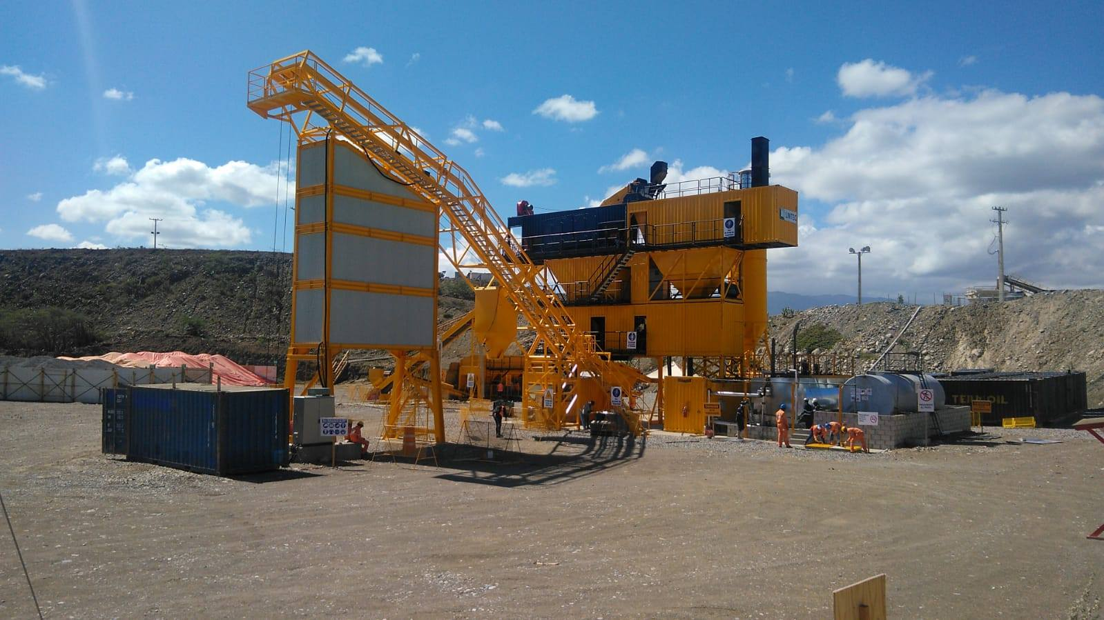Prese Montegrande Dam Construction