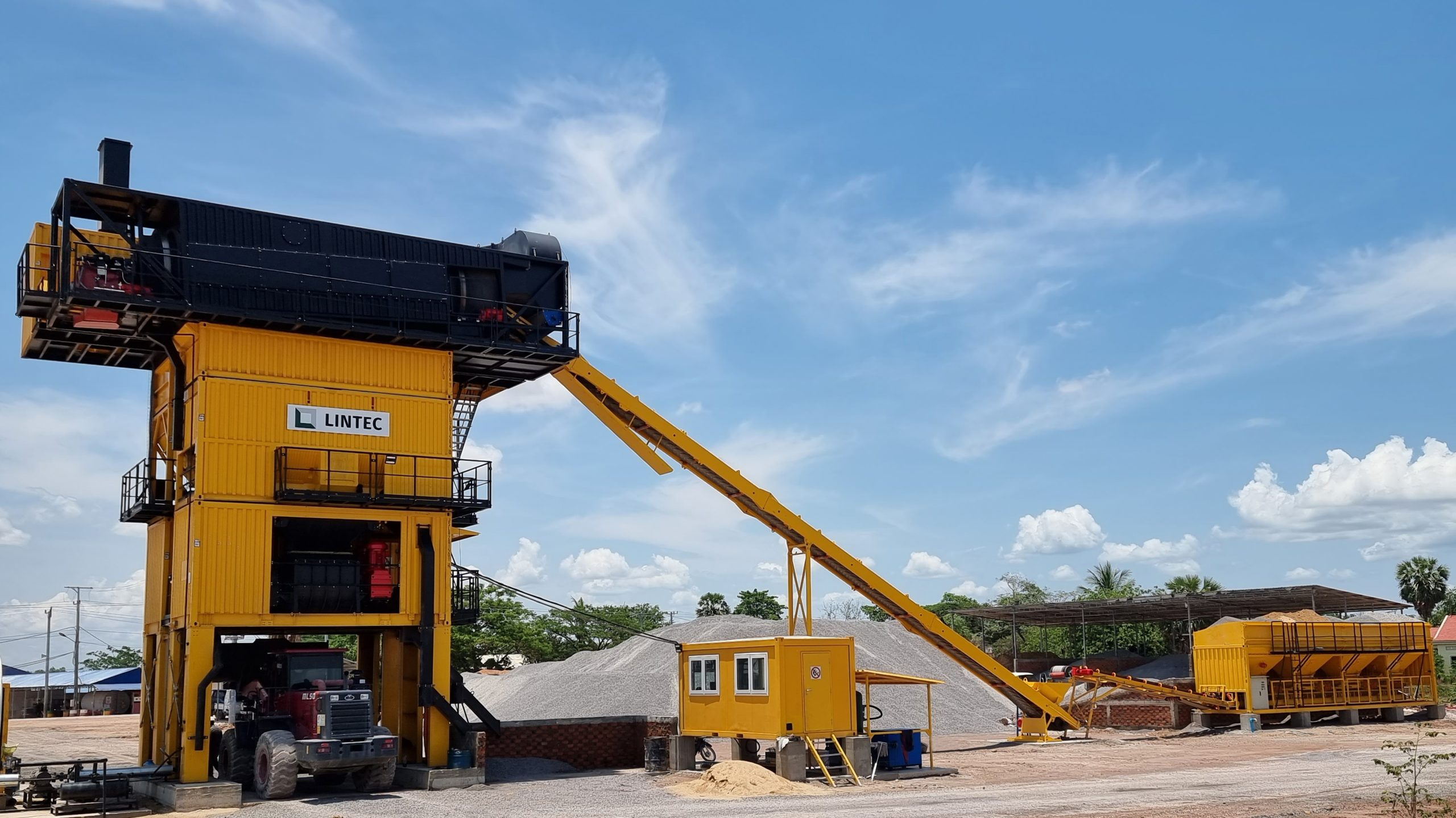 Lintec & Linnhoff asphalt plants pave the way for a more prosperous future in Cambodia